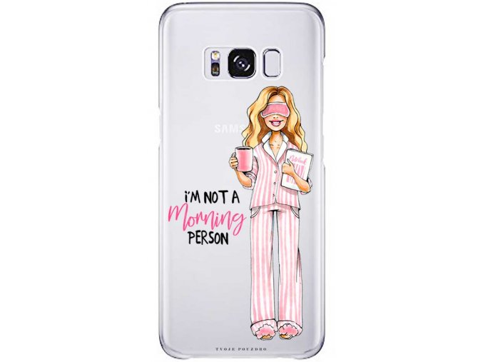 Kryt na Samsung S8 not morning blond pink