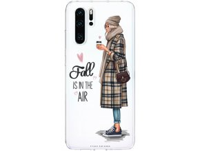 Pruzny kryt na Huawei P30 fall in air blond