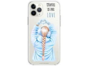 Pruzny kryt na iphone 11 pro winter is for love blond