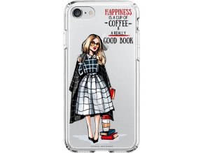 Obal na iPhone 8 Girl book blond