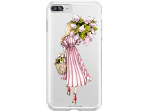 Pouzdro na iPhone 8 Plus glower girl blond