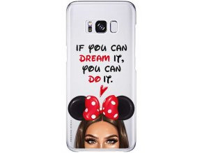 Kryt na Samsung S8 Disney Girl Brown