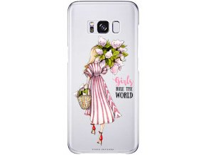 Kryt na Samsung S8 flower girl blond