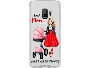 Obal na Samsung s9 moms power blond pink