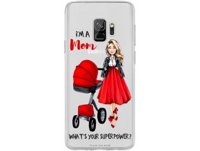 Obal na Samsung s9 moms power blond red