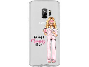 Obal na Samsung s9 not morning blond pink