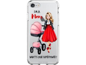 Obal na iPhone 8 moms power pink blond