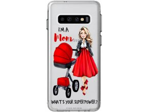 Obal na Samsung s10 moms power blond red