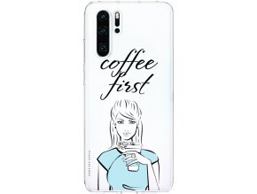 Pruzny kryt na Huawei p30 coffee first