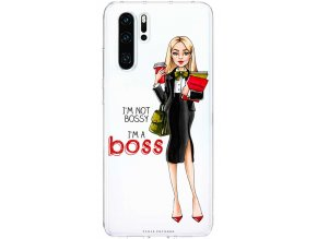 Kryt na Huawei P30 girl boss blond