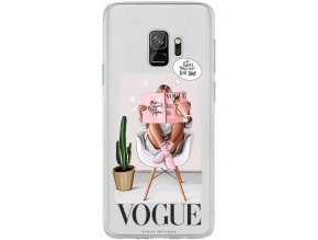 Kryt na Samsung S9 Vogue girl