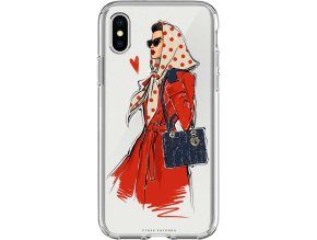 Pruzny kryt na iphone xs fashion girl