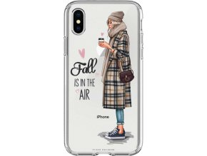 Pruzny kryt na iphone xs fall in air blond