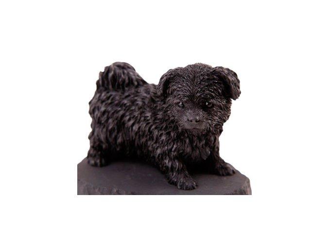 Boloňský psík - figurky ze šungitu