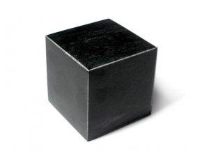 Krychle ze šungitu leštěná 5 cm