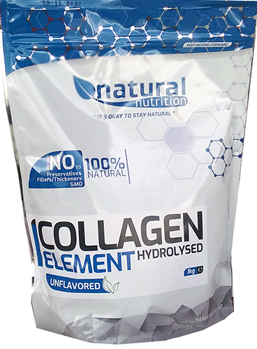 Natural Nutrition Collagen Element - Hydrolyzovaný kolagen 1kg