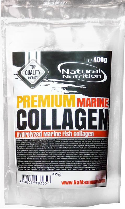 Natural Nutrition Collagen Premium Marine - Hydrolyzovaný rybí kolagen