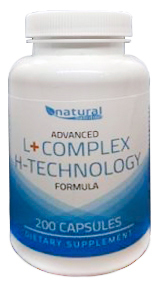 Natural Nutrition L-Complex H-Technology 200 kapslí