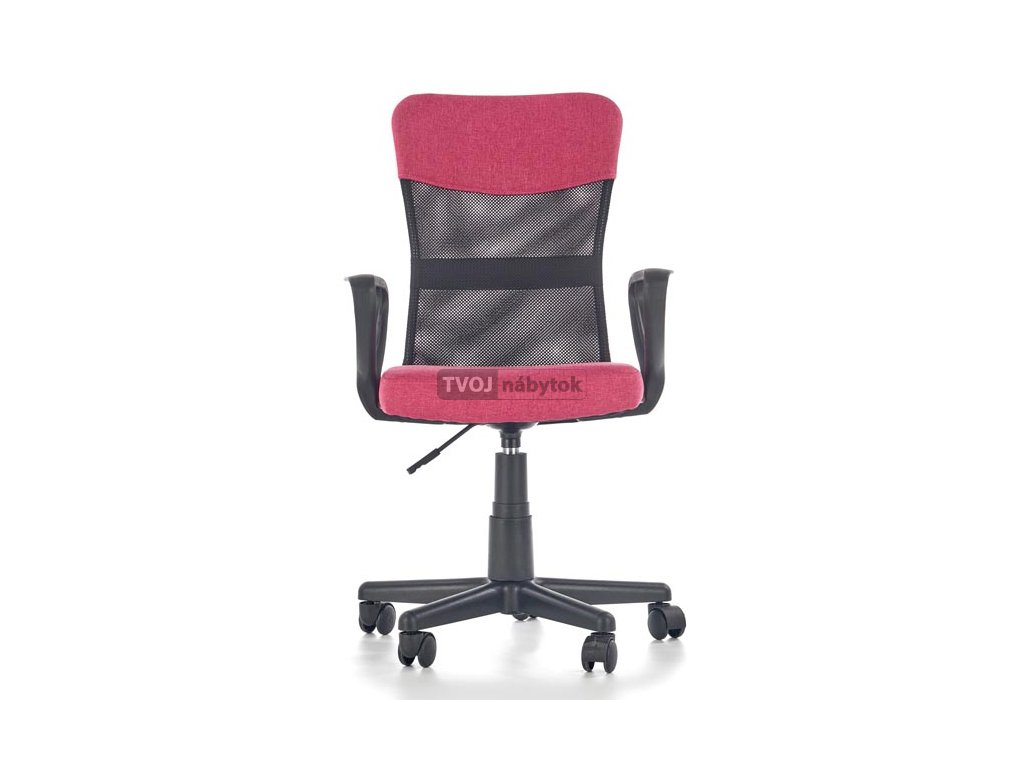 d7d4dc15746e Detská stolička TIMMY ružová čierna - TVOJnabytok.sk - eshop s ...