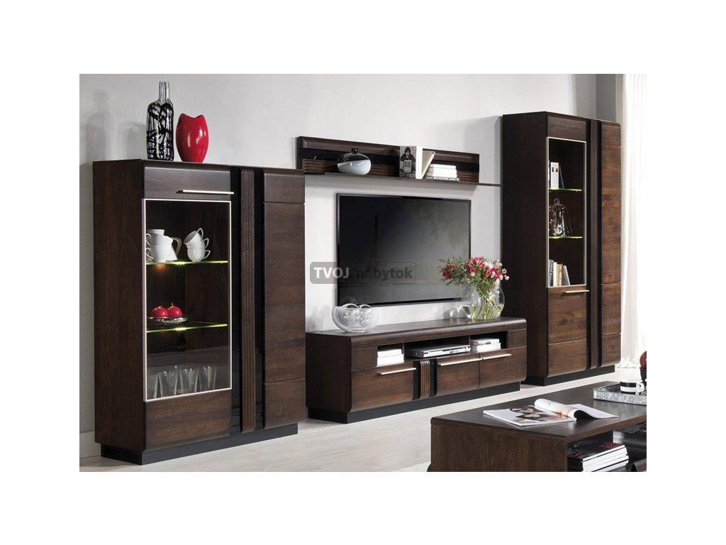 681f4c3109afc obývacie steny obývačka nábytok moderná obývacia stena RTV stolík skriňa  polica tempo kondela wip brw halmar famm