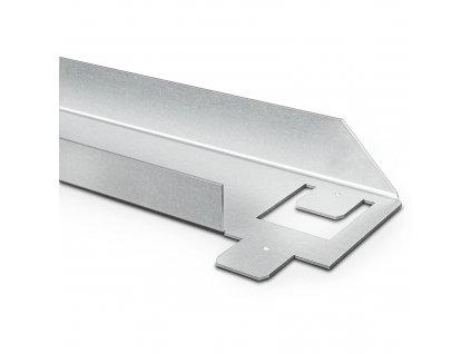 Kovový Regál Série Stark 180x120x45 5 políc Nosnosť 1750 KG- Pozinkovaný