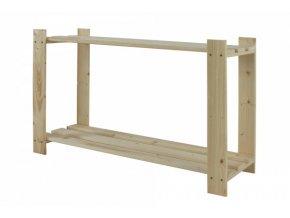 Regál drevený B-06 50x80x28 -borovica