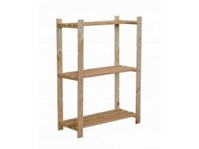 Regál drevený RA-3-65, 90x65x28cm - borovica