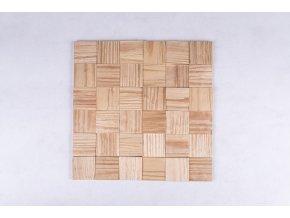 Drevený obklad na stenu- Prírodná 4 ks v balení PSDD_392X392X13_NSK4