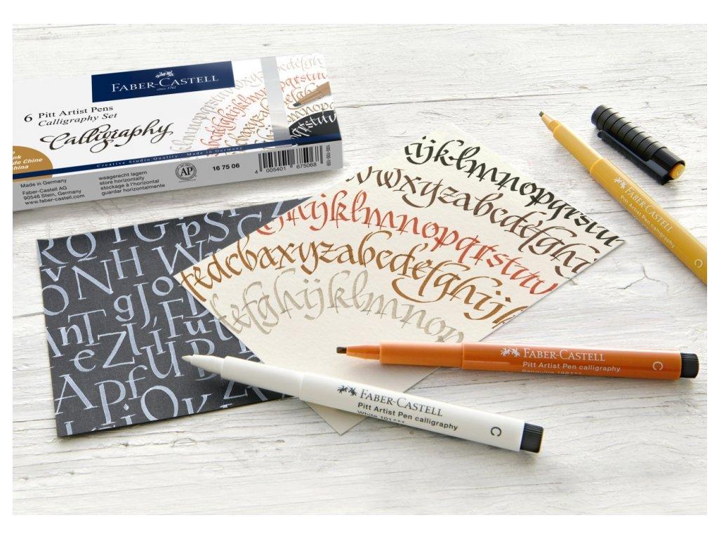 Kaligrafie a lettering