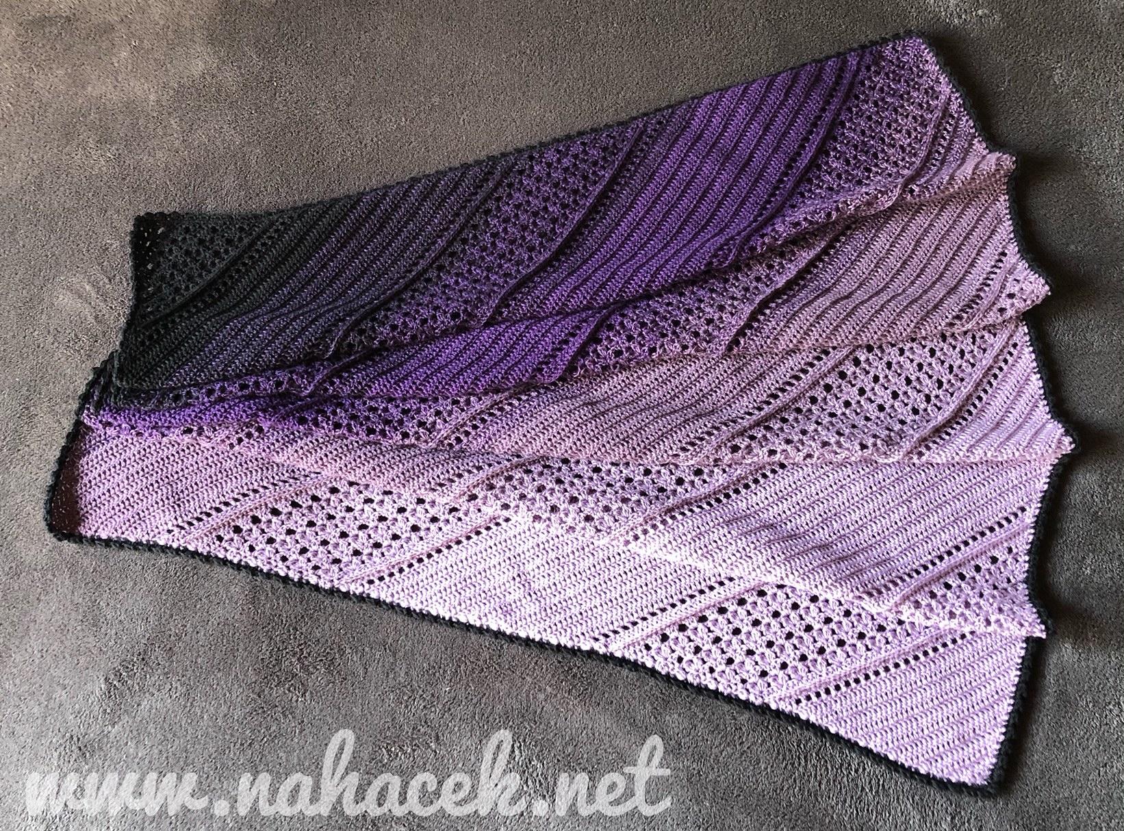 Návod na šátek/deku Magdaléna