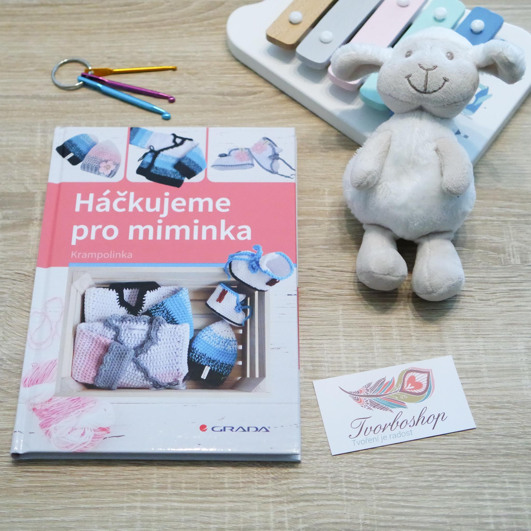 Recenze knihy Háčkujeme pro miminka