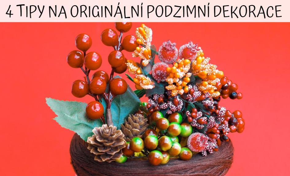 4 tipy na originální handmade podzimní dekorace