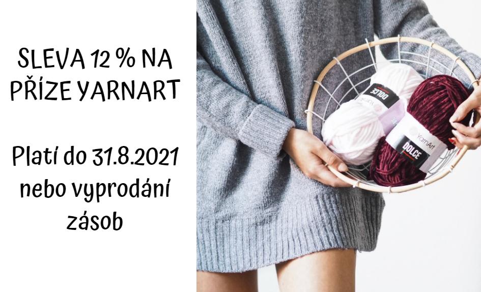 Sleva měsíce: 12 % na všechny příze značky YarnArt