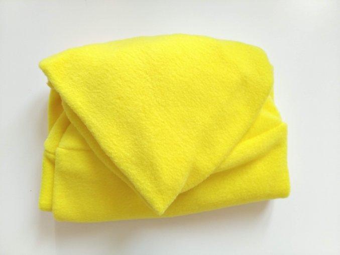 Vak do pufu 40x30 cm žlutý