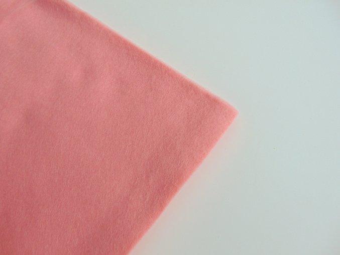 Filc 1mm 20x30cm světle růžový