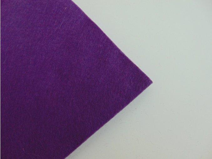Filc 1mm 20x30cm fialový