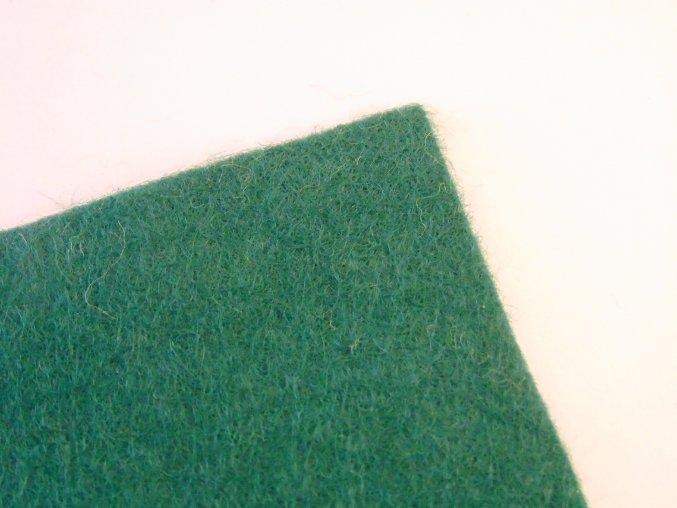 Filc 1mm 20x30cm vánočně zelený
