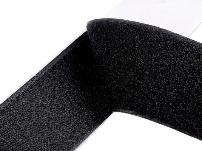 Suchý zip háček + plyš samolepicí šíře 80 mm