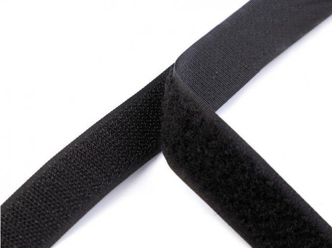 Suchý zip háček + plyš šíře 25 mm