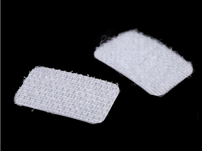 Suchý zip samolepicí obdélníčky 15x25 mm