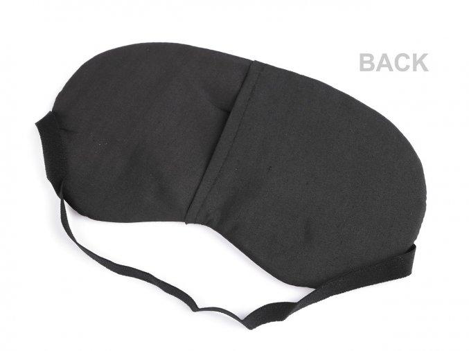 Maska na spaní plameňák 11x19,5 cm