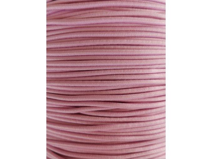 Kulatá guma růžová 2mm