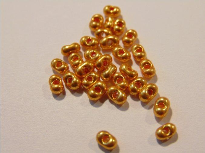 Farfalle malé tmavé zlaté 156