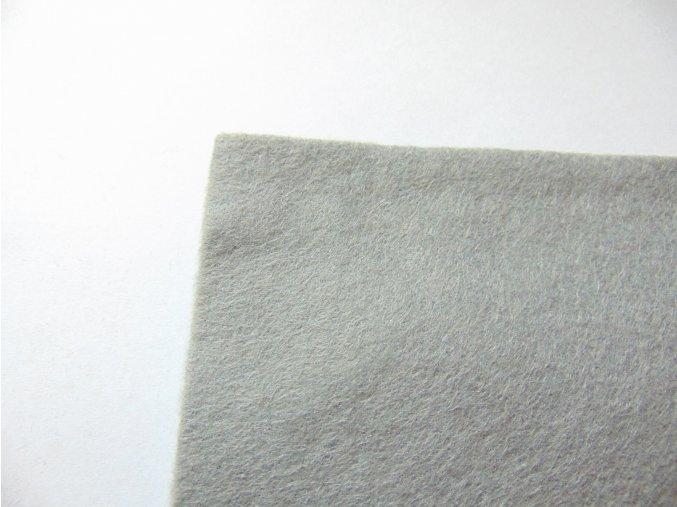 Filc 1mm 20x30cm šedý