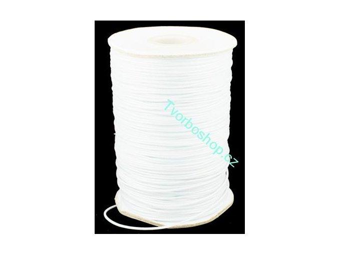 Vosková šňůra bílá 1,5mm