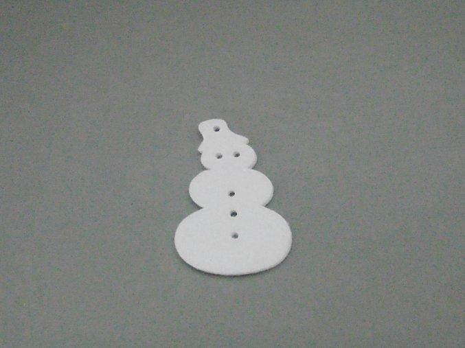 Výsek z filcu sněhulák