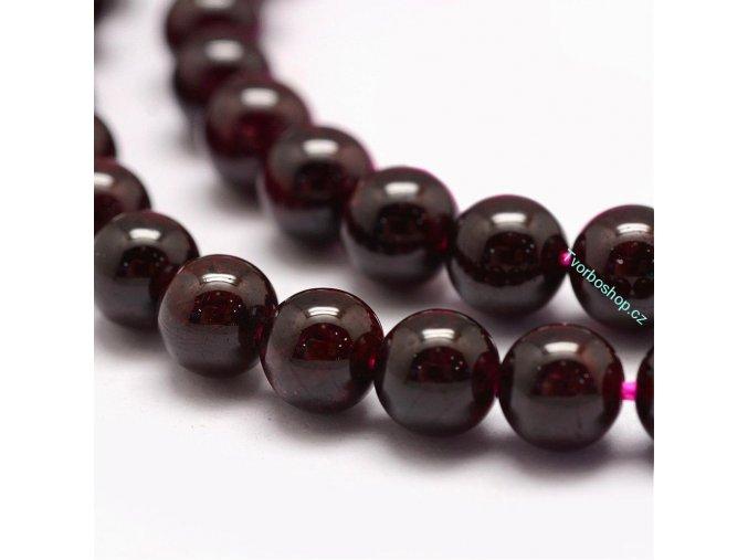 Granát přírodní 6 mm