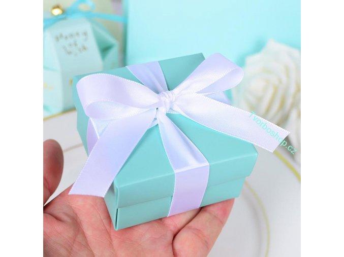 Dárková krabička světle modrá