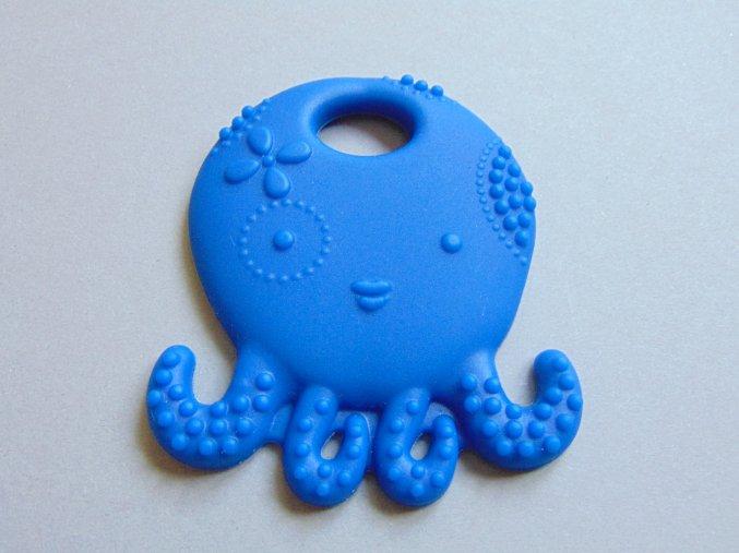 Silikonová chobotnice tmavě modrá