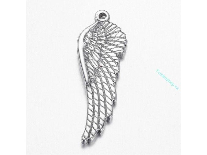 Přívěsek andělská křídla1 chir. ocel 1 ks